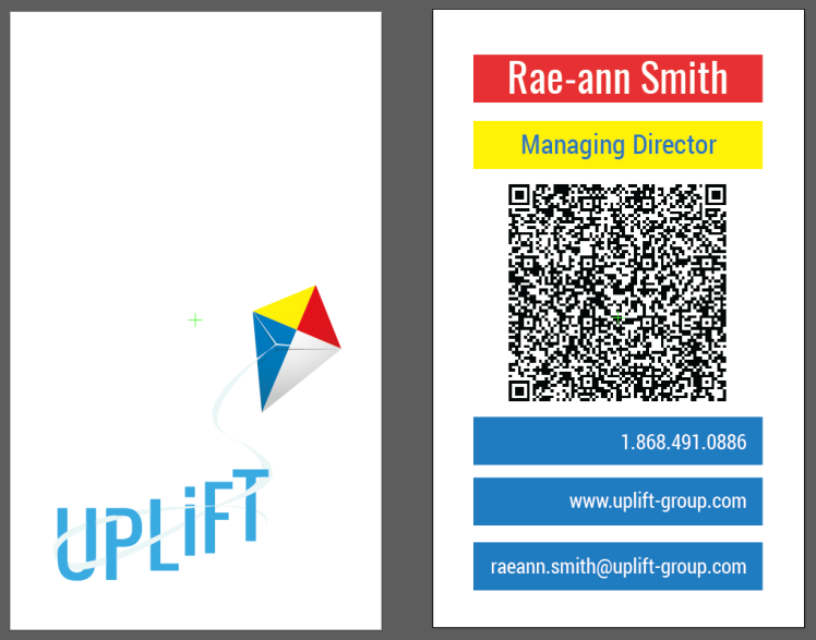 UPLiFT Business Card