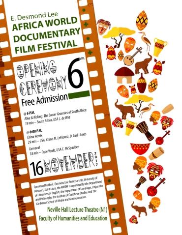 AWDFF Opening Ceremony Flyer