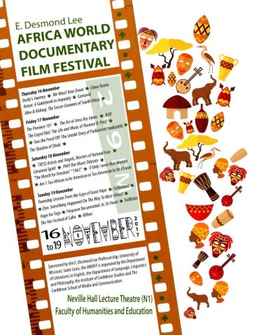 AWDFF Schedule Flyer